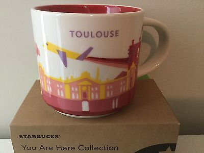Starbucks City Mug, TOULOUSE (FRANCE) «You Are Here» Collection, 14oz.