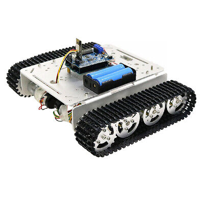 WiFi Smart Tank Chassis Remote Control Platform Car Kit for Arduino DIY Toy
