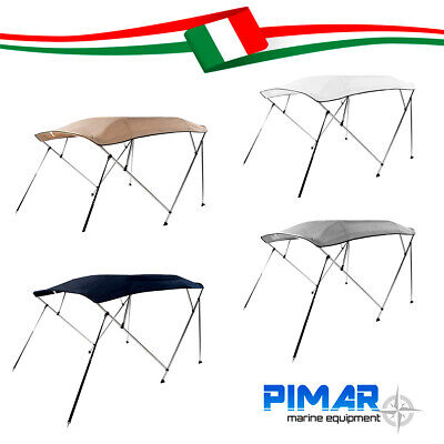 Tendalino 4 archi BEST PRICE in alluminio Ø25mm barca, gommone 220/240 nautica