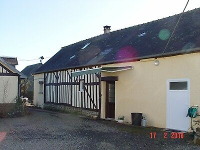 Character stone and Colombage Detached House, Normandy, France.Price Reduced.