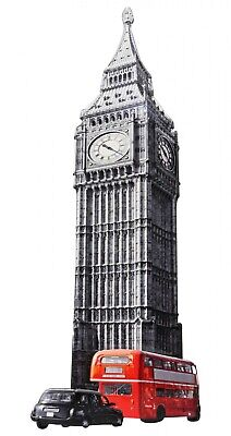 Muestra de la lata hoja big ben londres uk placa estilo antiguo 75cm