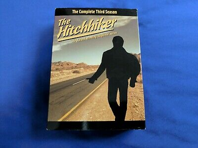 The Hitchhiker The Complete Third Season (DVD, 2004, 3-Disc Set) Near Mint Discs
