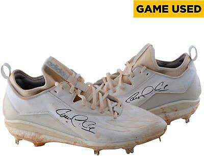 69364451754 Carlos Correa Houston Astros Autographed Game-Used Adidas White Cleats Size  13