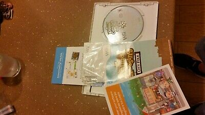 """Nintendo Wii Animal Crossing City Folk """"NOT FOR RESALE"""" COMPLETE"""