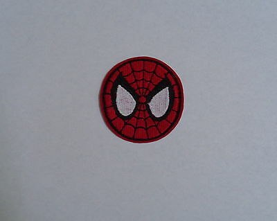 "Superhero ""Spiderman""  Iron-On Embroidered Patch"