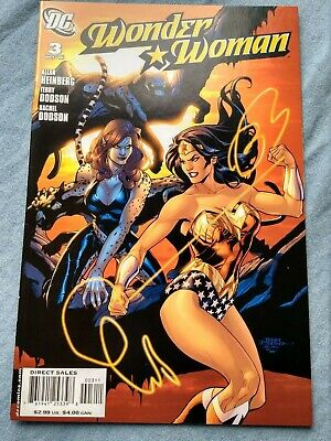 Wonder Woman 3 Vf/nm '06   'who Is?' Terry Dodson High Grade Unslabbed