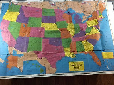 Cram Quick Reference Guide of the United States - Vintage Cram Map