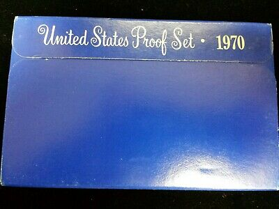 1970 S Uncirculated United States US Mint Proof Set