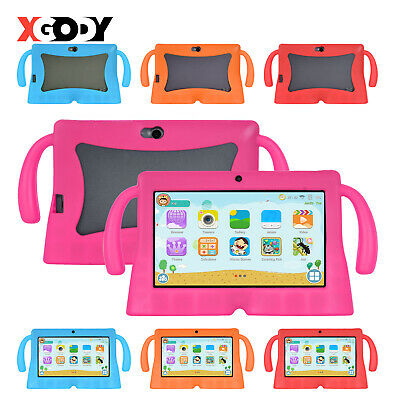 "XGODY Android Tablet PC 7"" Inch Quad-Core 8GB IPS Bluetooth WiFi For Kids Child"