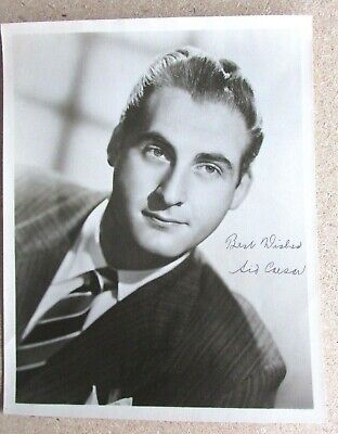 Signed 8x10 Photograph - Sid Caesar - Original Hand Signed Autograph - 1950s TV