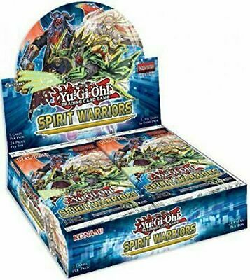 Spirit Warriors Booster Box Yugioh FACTORY SEALED 24 Pack 1st Ed English