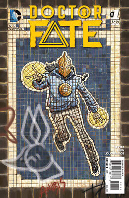 Doctor Fate #1 2015 DC 1st Print Near Mint to NM+ First Full Khalid Nassour