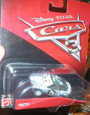 Disney Pixar Cars 3 Series Vehicle Patty, Never Opened