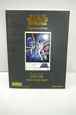 Star Wars Original Movie Script Library Z: 2 (MF14)