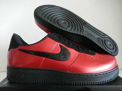 c5b6d92526634 NIKE AIR FORCE 1 Foamposite Pro Cup Mens AJ3664-601 Gym Red Black ...