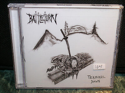 Battletorn Terminal Dawn Cd Sealed New Limited Edtion Of 500 Rare Htf Oop 22 Trk