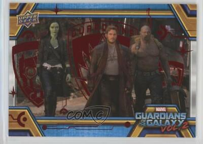 2017 Upper Deck Guardians of the Galaxy Volume 2 Red/49 #30 The Luggage Card l4z