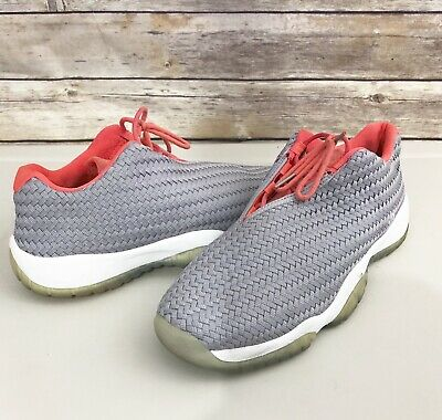 buy popular 52e15 31467 Nike Air Jordan Future Low GS Wolf Grey Infrared 724813-023 Youth Size 7