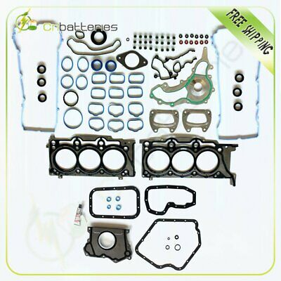 Full Cylinder Head Gasket Set For 11-16 Dodge Challenger / Charger 3.6L DOHC