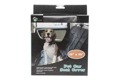 Amazing Petzoom Loungee Auto Car Pet Seat Cover Waterproof Black Alphanode Cool Chair Designs And Ideas Alphanodeonline