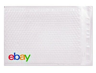 "eBay Branded Padded Shipping Mailer Airjacket Bubble Poly Envelopes 6.5"" x 9.25"""