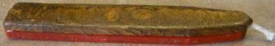 Gold/Red plus Silver/Red Sealing Wax - 2 Oversize Sticks total (Clearance)