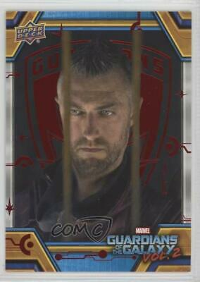 2017 Upper Deck Guardians of the Galaxy Volume 2 Red/49 #57 An old Ally Card 0ad