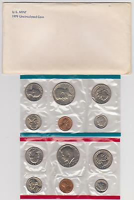 1979-P & D Uncirculated Coin United States 12-Coin Mint Set