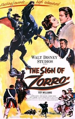 The Sign Of Zorro 1958 Dvd  Guy Williams