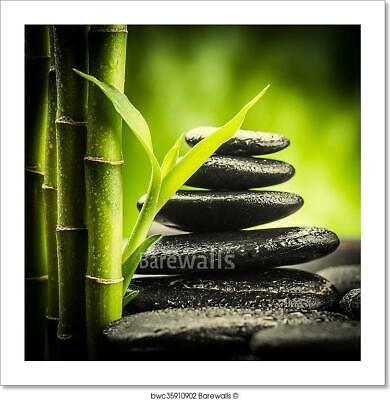 Zen Stones Art Print Home Decor Wall Art Poster - B