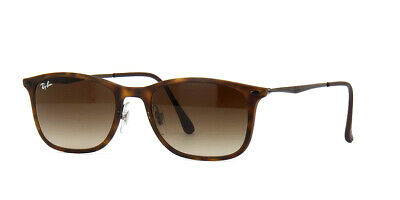 bdcc778a269ad New Ray Ban RB4225 894 13 Tortoise Frame Brown Gradient 52mm Lens Sunglasses