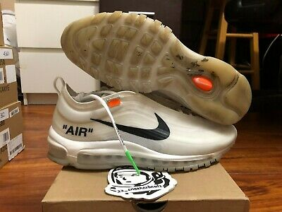 a643c3e19cd8 SEAN WOTHERSPOON AIR Max 97 Size 10 100% Authentic Supreme Nike Off ...