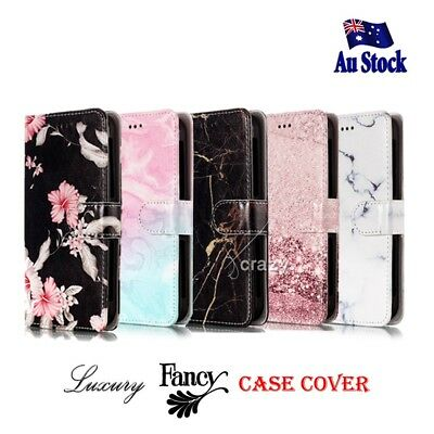 For Telstra Essential Smart Fancy Stylish Wallet Leather Universal Case Cover