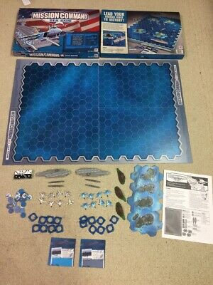 Mission Command Sea Game By Hasbro Milton Bradley 2003 99% Complete