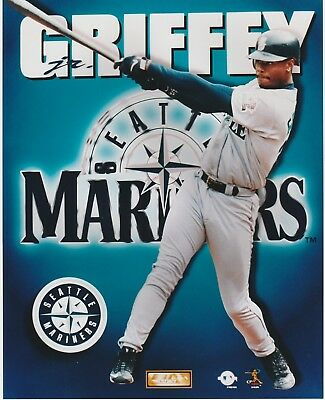 08806cc5d7 Ken Griffey Jr 8X10 Color Licensed Photo File Mlb Seattle Mariners Sweet  Swing