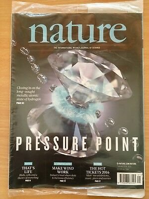 NATURE - Journal of Science Magazine 7 January 2016. Vol 529 Number 7584 Sealed!