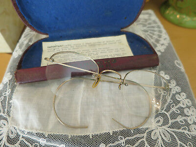 Vintage Shuron 1/10 12K Gold Filled Glasses, in original case, Melbourne