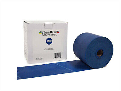 1 Blue Thera-Band, Theraband Resistance Band, 6 Feet + Free Shipping !