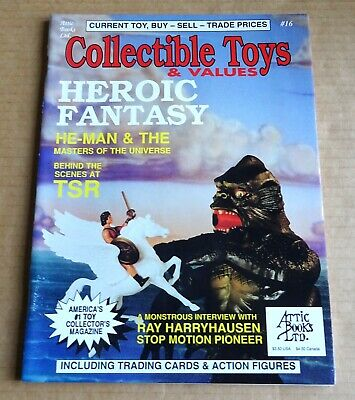 """USA BACK ISSUE  """"COLLECTIBLE TOYS & VALUES MAGAZINE""""  No 16  HEROIC FANTASY 1993"""