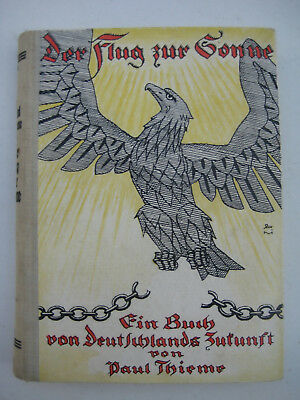 Thieme Flug zur Sonne Utopie Science Fiction 1926 Brandenburg an der Havel