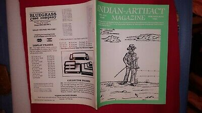 INDIAN ARTIFACT MAGAZINE - VOL 11 #2 Apr-May-June 1992 - SCARCE EARLY ISSUE