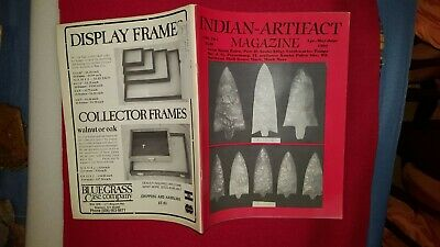 INDIAN ARTIFACT MAGAZINE - VOL 10 #2 Apr-May-June 1991 - SCARCE EARLY ISSUE