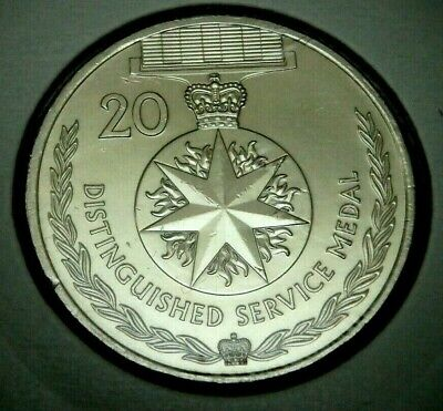 Australian 2017 20 Cent Coin - DISTINGUISHED SERVICE MEDAL