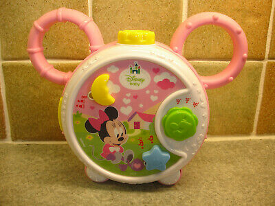 Disney Baby Minnie Mouse Musical Cot Mobile Light Projector with Timer 10-20 Min