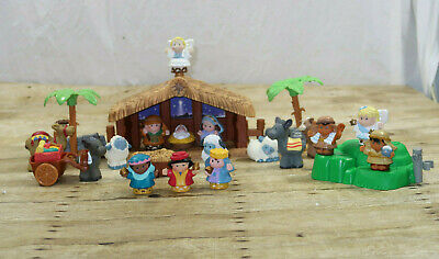 Fisher Price Little People A Christmas Story Nativity Set