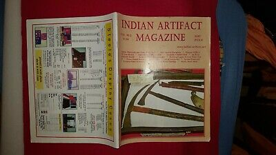 INDIAN ARTIFACT MAGAZINE - VOL 30 #2 Apr-May-June 2011 - SCARCE EARLY ISSUE