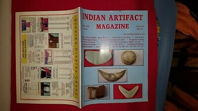 INDIAN ARTIFACT MAGAZINE - VOL 29 #3 August 2010 - SCARCE EARLY ISSUE