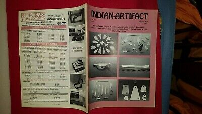 INDIAN ARTIFACT MAGAZINE - VOL 13 #3 July-Aug-Sept 1994 - SCARCE EARLY ISSUE
