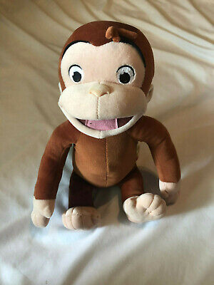 Marvel Toys Giggling Curious George Plush Monkey Movie Promo
