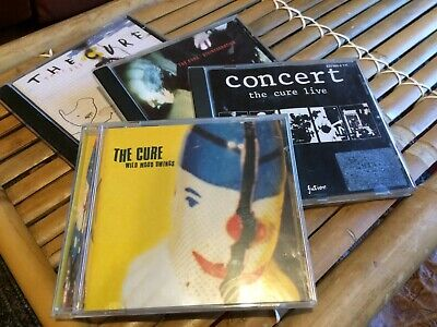 THE CURE 4 CD's for Sale 1984-1989-1996-2004 GOOD CONDITIONS